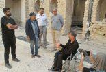 سیروس مقدم کارگردان شهیر سینما در بندر سیراف + تصاویر