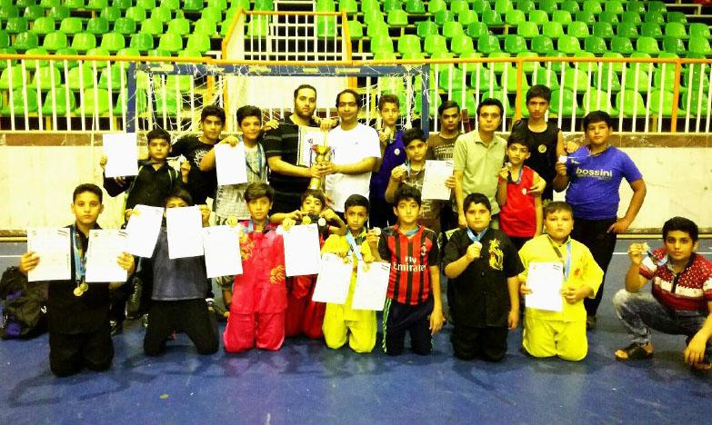 تیم دیر جام اخلاق مسابقات ووشو استان بوشهر را کسب کرد