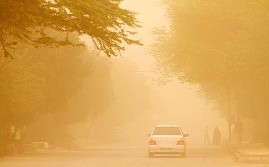 میزان ذرات معلق در هوای استان بوشهر ۷ برابر استاندارد است