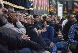 به روایت تصویر:مراسم هفتم ماه محرم در حسینیه شهدای گمنام شهر بنک
