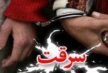دستگیری سارق کابلهای برق در شهر بنک