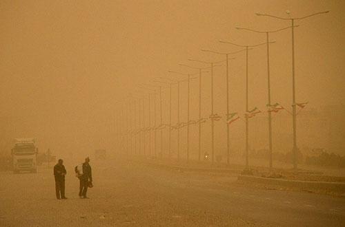 وقوع گرد و غبار در ۴ استان