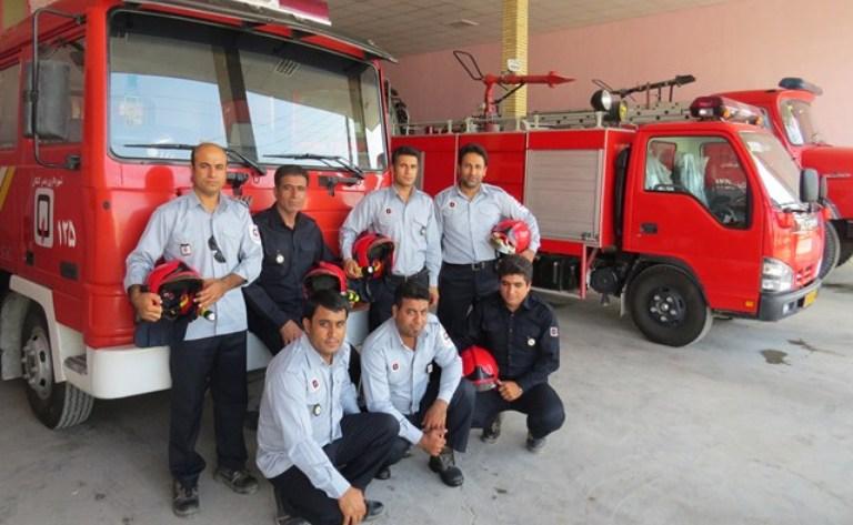 آماده باش آتش نشانی کنگانی برای آیین چهارشنبه سوری