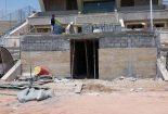 ادامه روند بازسازی ورزشگاه تختی جم(عکس)