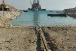 عملیات لولهگذاری نخستین خط دریایی فاز ۱۳ آغاز شد