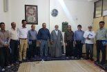 دیدار اعضای دفتر نظارت و بازرسی شورای نگهبان با امام جمعه کنگان
