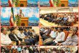 گزارش تصویری از مراسم تجلیل از کارمندان نمونه در کنگان