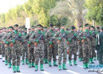 گزارش تصویری رژه نیروهای مسلح شهرستان کنگان