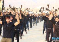 تصاویر تجمع بزرگ عاشوراییان شهرستان کنگان