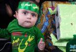 تصاویر مراسم شیرخوارگان حسینی آبدان