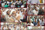 گزارش تصویری از نماز عید قربان در کنگان