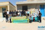 برگزاری اردوی جهادی گروه شهید حاج علی فارسی + تصاویر