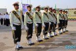 صبحگاه مشترک نیروهای نظامی و انتظامی شهرستان کنگان برگزار شد + تصاویر