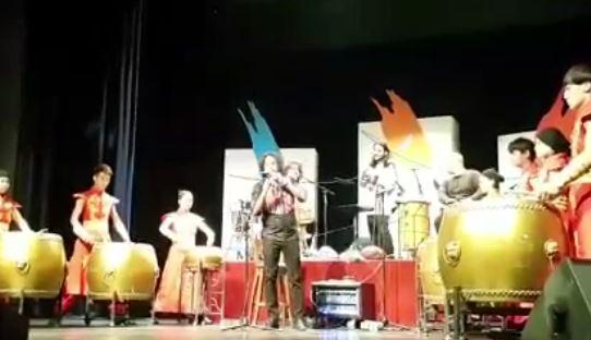 فیلم/ قطعهای از محسن شریفیان با هنرمندان چینی برای دریانوردان