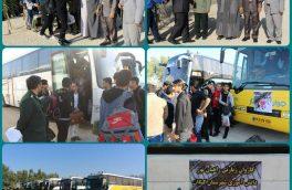 اعزام ۳۰۰ دانش آموز پسر شهرستان کنگان به اردوی راهیان نور